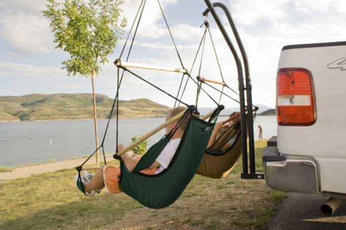 pickup truck camping equipment