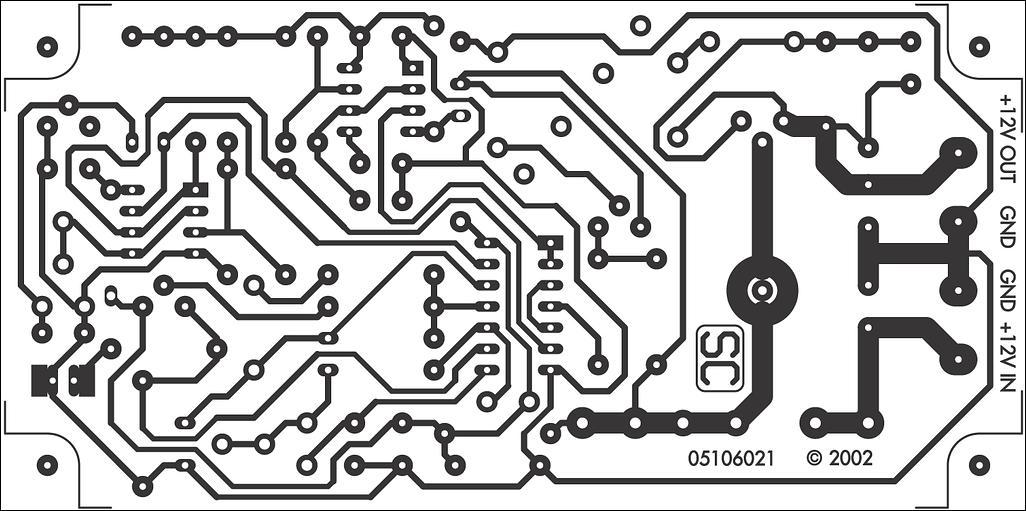 12 Volt Battery Guardian Circuit circuit diagram and instructions