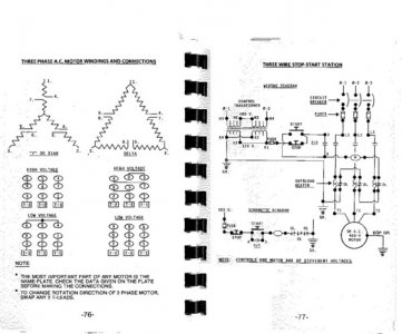 europe 3 phase motor wiring diagram 9 wire