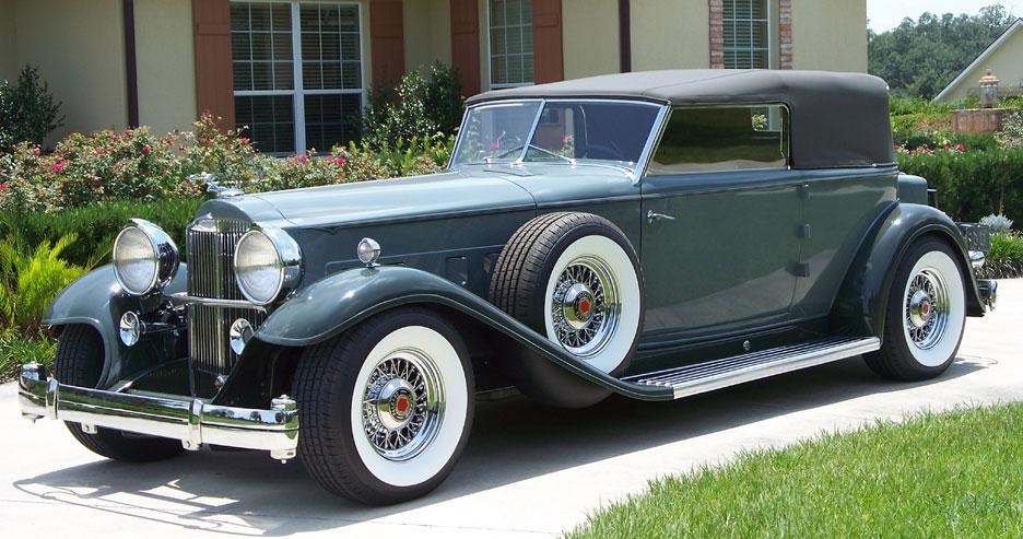 Ambassador Car Wallpaper Packard Wire Wheels