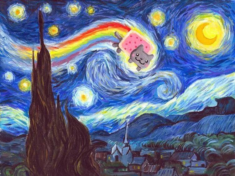 Vincent Van Gogh Quotes Wallpaper 60 Fanarts De Pinturas Famosas Videojuegos Series Y Cine