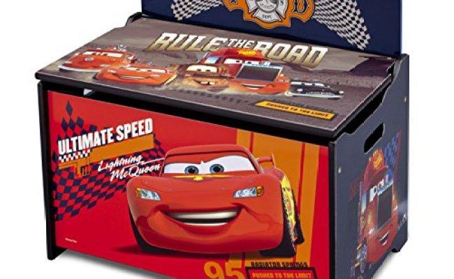 Delta Children Deluxe Toy Box Disney Pixar Cars Hobby