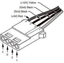 4 pin connector wire diagram