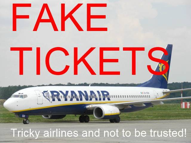 Making a Fake Onward Ticket from Puerto Plato Dominican Republic to