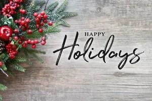 Happy Holidays Hocon Gas