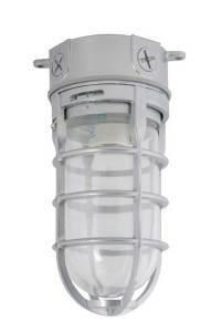 Incandescent Bulb Vapor Tight Ceiling Fixture | Hog Slat