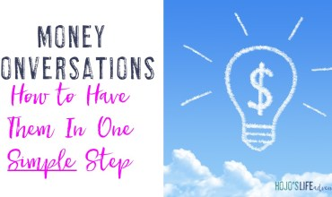 Money Conversations: How to Have Them {In One Simple Step!}