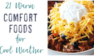 21 Comfort Foods for Cool Weather