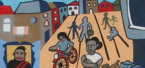 Rededication of the Mural at 18th and Columbia Rd. NW