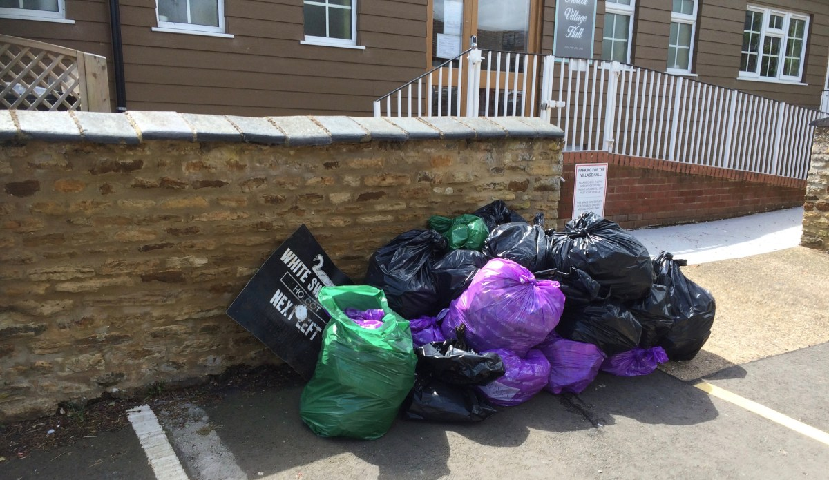 Today's litter pick : thank you