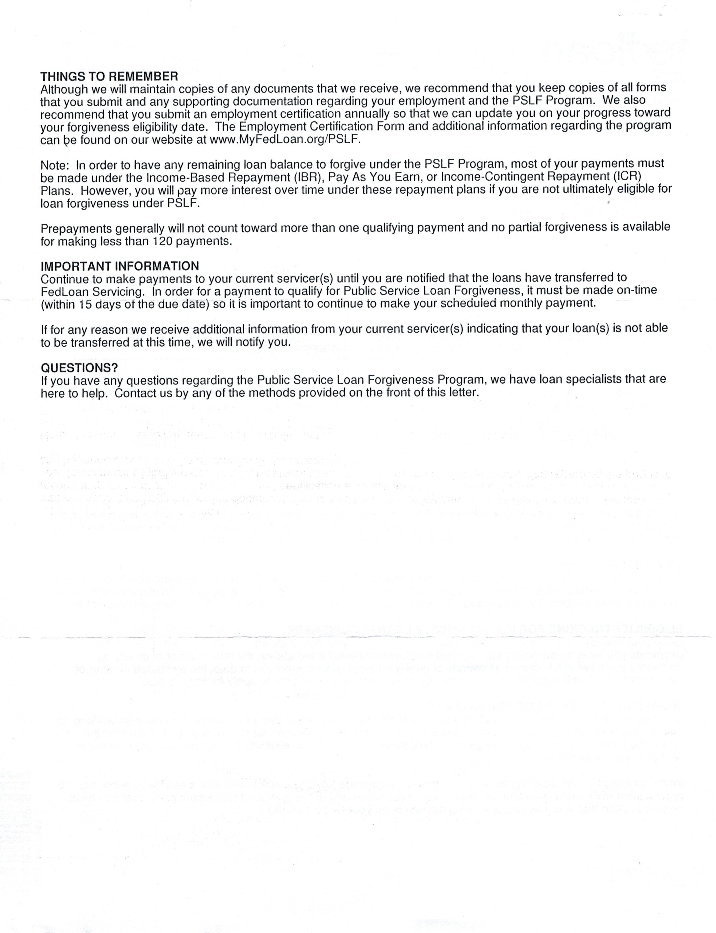 employment transfer letter