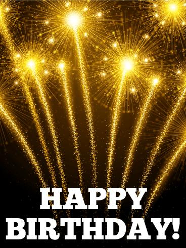 Best Friend Birthday Quotes Wallpaper Let S Celebrate Birthday Fireworks Card Birthday