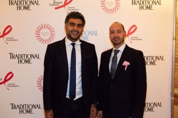 Amir Kazerani and David Levy, CEO of Flexform