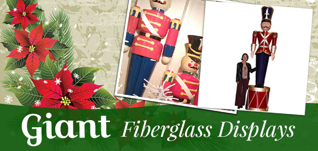 Commercial Christmas Decorations \ Sculpted Displays - large christmas decorations
