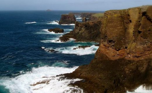 The Cliffs of Shetland