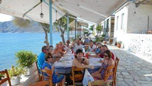 Lunch in Perdika