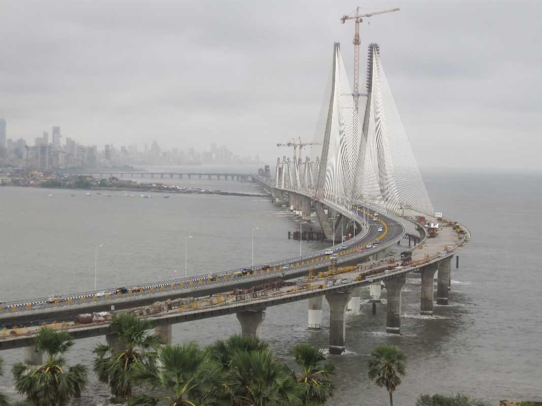 Storm City Wallpaper Hd 3d Bandra Worli Sea Link Mumbai Information About Bandra