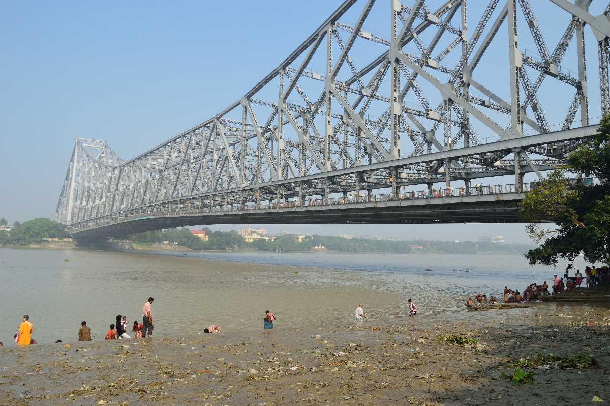 Lifeline Quotes Wallpaper Howrah Bridge Kolkata Photo History Of Rabindra Setu