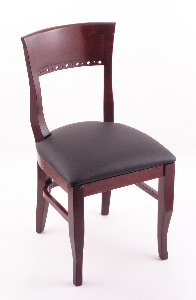 Hampton 18quot 3160 Dining Room Chair Dark Cherry Finish And