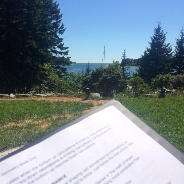 book edits by the ocean