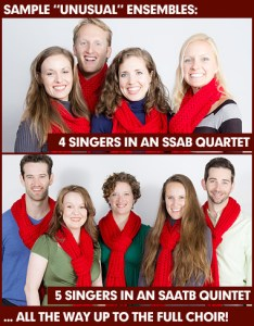 the new york city holiday choristers group special sizes
