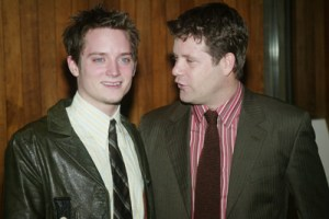 "NEW YORK - JANUARY 10:  Actors Elijah Wood and Sean Astin attend a Film Society of Lincoln Center special screening of ""The Lord Of The Rings"" Trilogy at Alice Tully Hall, Lincoln Center January 10, 2004 in New York City. (Photo by Evan Agostini/Getty Images)"