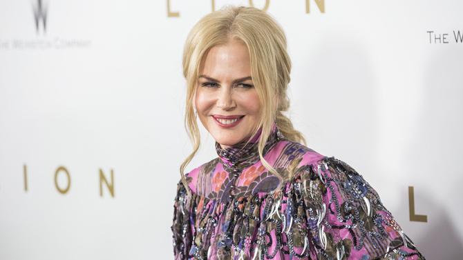 Mandatory Credit: Photo by Joe Russo/REX/Shutterstock (7442995g) Nicole Kidman 'Lion' film premiere, Arrivals, New York, USA - 16 Nov 2016