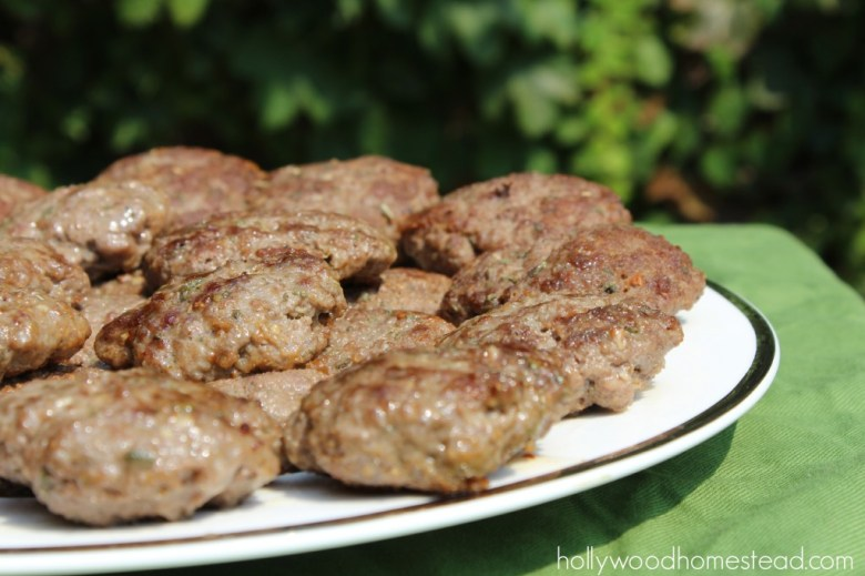 Paleo Homemade Beef Breakfast Sausage Patties