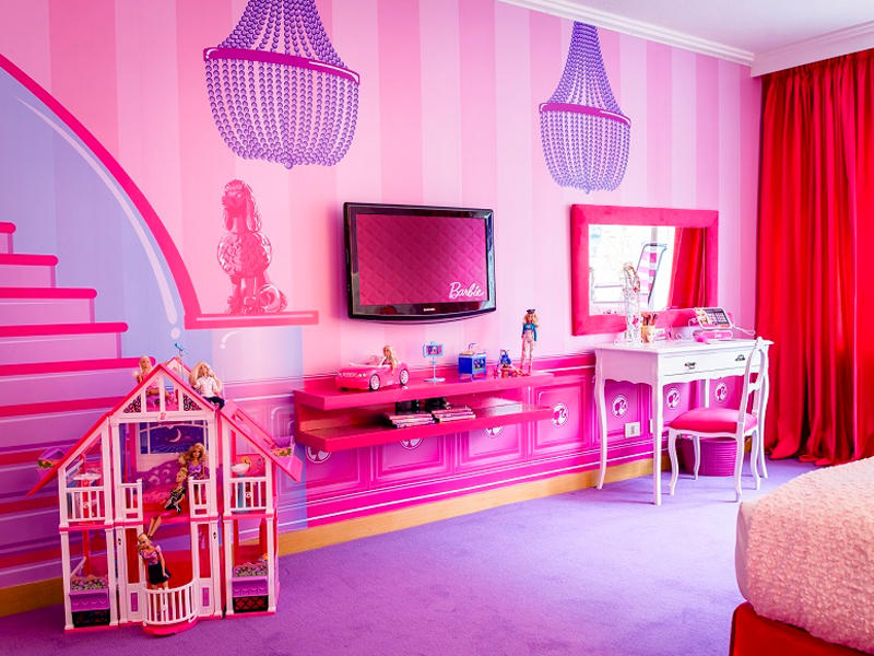 Wallpaper For Teenage Girl Room Inspiration Hilton Buenos Aires Barbie Room