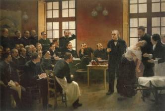 Antoine Brouillet (Une leçon clinique à la Salpêtrière, 1887)