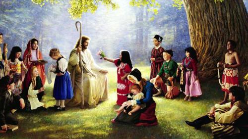 Bible Quotes Wallpaper Download Christmas Wallpapers Jesus Children Wallpaper