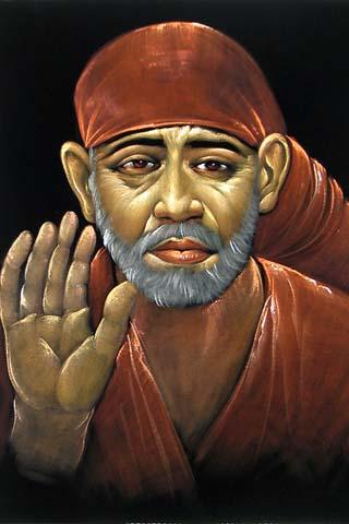Thoughts Quotes Wallpaper 320x480 Mobile Wallpapers Shirdi Sai Baba Mobile Wallpaper