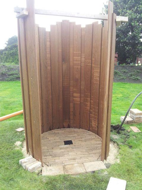 Gartendusche Bauanleitung zum selber bauen Heimwerker-Forum - outdoor küche selber bauen