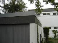 Garage blechdach  Dachdecker verband