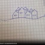 Idee Rückwand Meer Häuser
