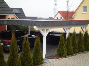 Doppelcarport modern