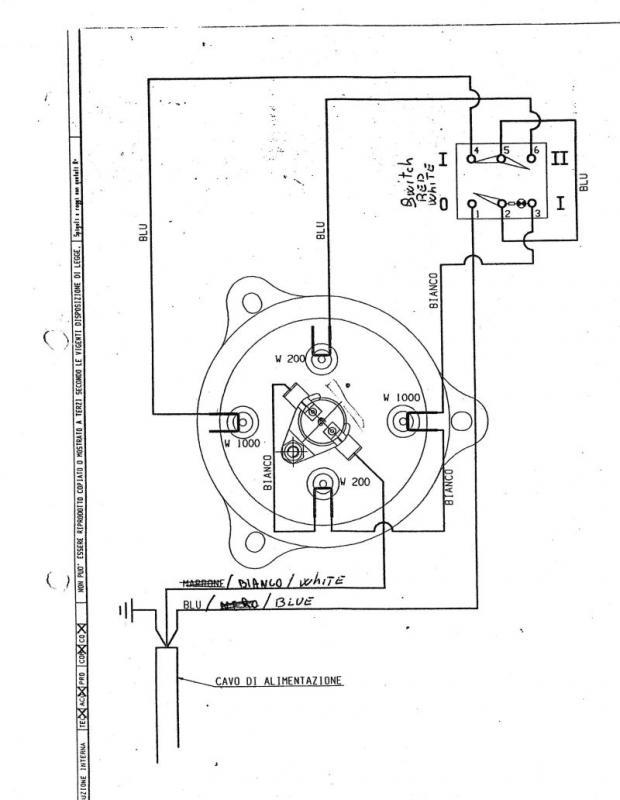 Early 1980s La Pavoni Europiccola - need help replacing heating