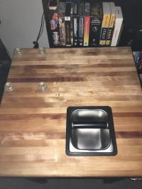 [SOLD] Custom Butcher Block Coffee Station/Table - Buy/Sell