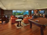 Home Bar With Pool Table Room