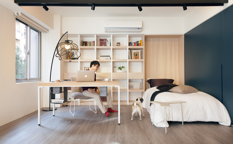 Small but airy Taiwan apartment Bedrooms, Apartments and Spaces