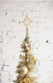 クリスマスデコレーション ーゴールドー