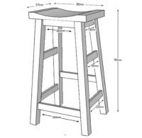 HOME DZINE Home DIY   Make your own bar stools