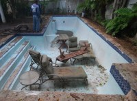 Pool That Turns Into A Patio swimming pool patio design