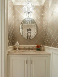 HOME DZINE Bathrooms | Decorating a guest toilet