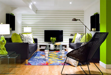 HOME DZINE Home Decor Make a room appear larger - how to make a small living room look bigger