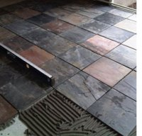 HOME DZINE Home DIY | Lay a slate tile floor or wall