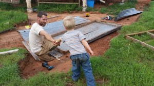 Building the new coop