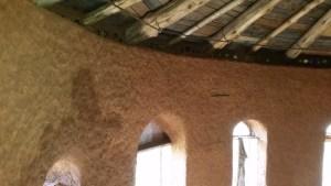 cob on interior walls