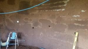 cob on earhtbag wall interior