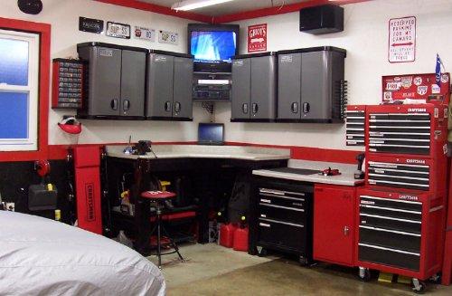 Garage Work Area
